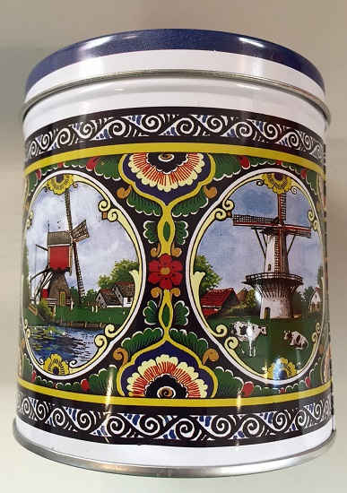 Stroopwafel Tin Windmills Holland (EMPTY)